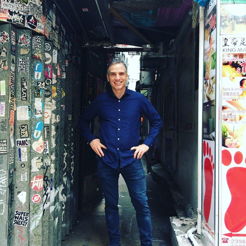Frank Bogues in Hongkong_Gotham Life Coach